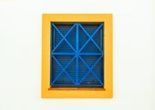 Ζωηρόχρωμο παράθυρο. Στοκ φωτογραφία με δικαίωμα ελεύθερης χρήσης