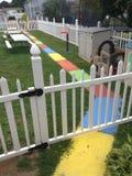 Ζωηρόχρωμο πεζοδρόμιο στοκ φωτογραφία με δικαίωμα ελεύθερης χρήσης