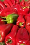ζωηρόχρωμο πιπέρι δεσμών στοκ εικόνα με δικαίωμα ελεύθερης χρήσης