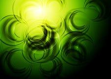 Ζωηρόχρωμο πράσινο σχέδιο διανυσματική απεικόνιση