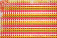 ζωηρόχρωμο πρότυπο κύκλων Στοκ φωτογραφίες με δικαίωμα ελεύθερης χρήσης