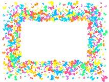 ζωηρόχρωμο πρότυπο πεταλούδων Στοκ φωτογραφίες με δικαίωμα ελεύθερης χρήσης