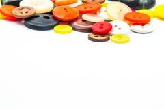 Ζωηρόχρωμο πλαίσιο κουμπιών Στοκ εικόνα με δικαίωμα ελεύθερης χρήσης