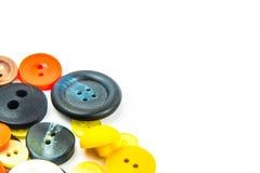 Ζωηρόχρωμο πλαίσιο κουμπιών Στοκ Φωτογραφίες