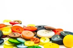 Ζωηρόχρωμο πλαίσιο κουμπιών Στοκ εικόνες με δικαίωμα ελεύθερης χρήσης
