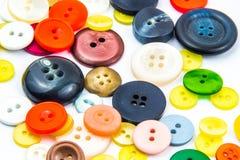 Ζωηρόχρωμο πλαίσιο κουμπιών Στοκ φωτογραφία με δικαίωμα ελεύθερης χρήσης