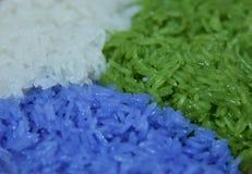 ζωηρόχρωμο ρύζι Στοκ Εικόνες