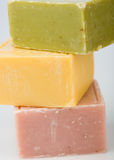ζωηρόχρωμο σαπούνι Στοκ Φωτογραφία