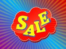 ζωηρόχρωμο σημάδι πώλησης Στοκ εικόνα με δικαίωμα ελεύθερης χρήσης