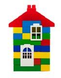 Ζωηρόχρωμο σπίτι παιχνιδιών Στοκ φωτογραφίες με δικαίωμα ελεύθερης χρήσης