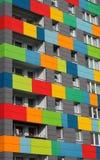 Ζωηρόχρωμο σπίτι στη Γερμανία στοκ φωτογραφία