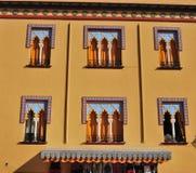 ζωηρόχρωμο σπίτι Στοκ φωτογραφίες με δικαίωμα ελεύθερης χρήσης