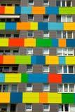 ζωηρόχρωμο σπίτι Στοκ Εικόνα