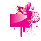 ζωηρόχρωμο στιλπνό grunge κουμ&pi Ελεύθερη απεικόνιση δικαιώματος