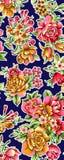Ζωηρόχρωμο σχέδιο τυπωμένων υλών λουλουδιών Στοκ Εικόνες
