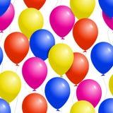 Ζωηρόχρωμο σχέδιο Κομμάτων μπαλονιών άνευ ραφής Απεικόνιση αποθεμάτων