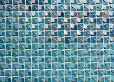 Ζωηρόχρωμο σχέδιο σύστασης του τοίχου κεραμικών κεραμιδιών Στοκ Εικόνες