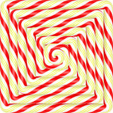 Ζωηρόχρωμο τετραγωνικό υπόβαθρο καραμελών lollipop σπειροειδές Διάνυσμα illustr Στοκ φωτογραφία με δικαίωμα ελεύθερης χρήσης