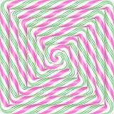 Ζωηρόχρωμο τετραγωνικό υπόβαθρο καραμελών lollipop σπειροειδές Διάνυσμα illustr Στοκ Φωτογραφίες