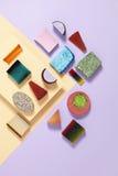 Ζωηρόχρωμο υπόβαθρο σαπουνιών τεχνών Στοκ εικόνα με δικαίωμα ελεύθερης χρήσης