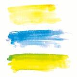 Ζωηρόχρωμο υπόβαθρο σημείων Watercolor επίσης corel σύρετε το διάνυσμα απεικόνισης Στοκ Εικόνα