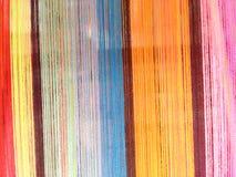 Ζωηρόχρωμο υπόβαθρο σκοινιού λωρίδων στοκ φωτογραφίες