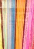Ζωηρόχρωμο υπόβαθρο σκοινιού λωρίδων Στοκ φωτογραφία με δικαίωμα ελεύθερης χρήσης