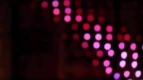 Ζωηρόχρωμο υπόβαθρο Χριστουγέννων bokeh απόθεμα βίντεο