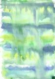 Ζωηρόχρωμο φωτεινό αφηρημένο υπόβαθρο watercolor Στοκ Εικόνα