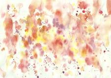 Ζωηρόχρωμο φωτεινό αφηρημένο υπόβαθρο watercolor Στοκ φωτογραφίες με δικαίωμα ελεύθερης χρήσης