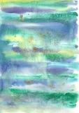 Ζωηρόχρωμο φωτεινό αφηρημένο υπόβαθρο watercolor Στοκ εικόνα με δικαίωμα ελεύθερης χρήσης