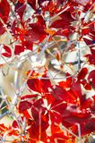 Ζωηρόχρωμο φύλλωμα φύλλων φθινοπώρου, πόλη Sakura, Τσίμπα, Ιαπωνία Στοκ Εικόνα