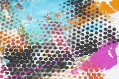 Ζωηρόχρωμο χρωματισμένο υπόβαθρο Grunge στοκ φωτογραφίες