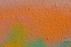 Ζωηρόχρωμο χρώμα γκράφιτι Στοκ εικόνες με δικαίωμα ελεύθερης χρήσης