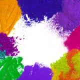 Ζωηρόχρωμο χρώμα σκονών Στοκ φωτογραφία με δικαίωμα ελεύθερης χρήσης