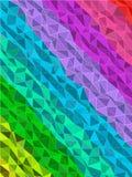 Ζωηρόχρωμο λωρίδα στο σχέδιο τριγώνων με τη σύσταση γραμμών Στοκ εικόνα με δικαίωμα ελεύθερης χρήσης