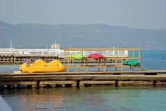 ζωηρόχρωμο ύδωρ εξοπλισμού Στοκ Εικόνα