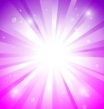 ζωηρόχρωμο ύδωρ ηλιοφάνειας απελευθερώσεων ανασκόπησης απεικόνιση αποθεμάτων
