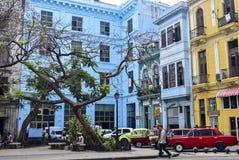 Ζωηρόχρωμο arquitecture στην Κούβα Στοκ φωτογραφίες με δικαίωμα ελεύθερης χρήσης