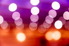 Ζωηρόχρωμο bokeh του φωτός, με το copyspace για τη διαφήμιση στοκ εικόνες