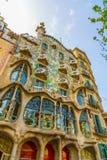 Ζωηρόχρωμο Casa Batllo στη Βαρκελώνη Στοκ φωτογραφία με δικαίωμα ελεύθερης χρήσης