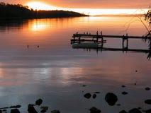 ζωηρόχρωμο dusk Στοκ εικόνες με δικαίωμα ελεύθερης χρήσης