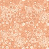 Ζωηρόχρωμο floral άνευ ραφής σχέδιο Στοκ φωτογραφίες με δικαίωμα ελεύθερης χρήσης