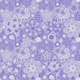 Ζωηρόχρωμο floral άνευ ραφής σχέδιο Στοκ Εικόνες