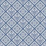 ζωηρόχρωμο floral γοτθικό άνευ ραφής διάνυσμα προτύπων Στοκ Εικόνες