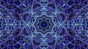 ζωηρόχρωμο fractal ανασκόπησης απόθεμα βίντεο