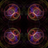 ζωηρόχρωμο fractal ανασκόπησης Στοκ εικόνα με δικαίωμα ελεύθερης χρήσης