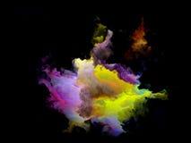 Ζωηρόχρωμο Fractal μόριο σύννεφων Στοκ Φωτογραφίες