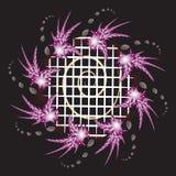 ζωηρόχρωμο fractal Στοκ Εικόνα
