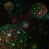 Ζωηρόχρωμο fractal Beautyful Στοκ εικόνα με δικαίωμα ελεύθερης χρήσης